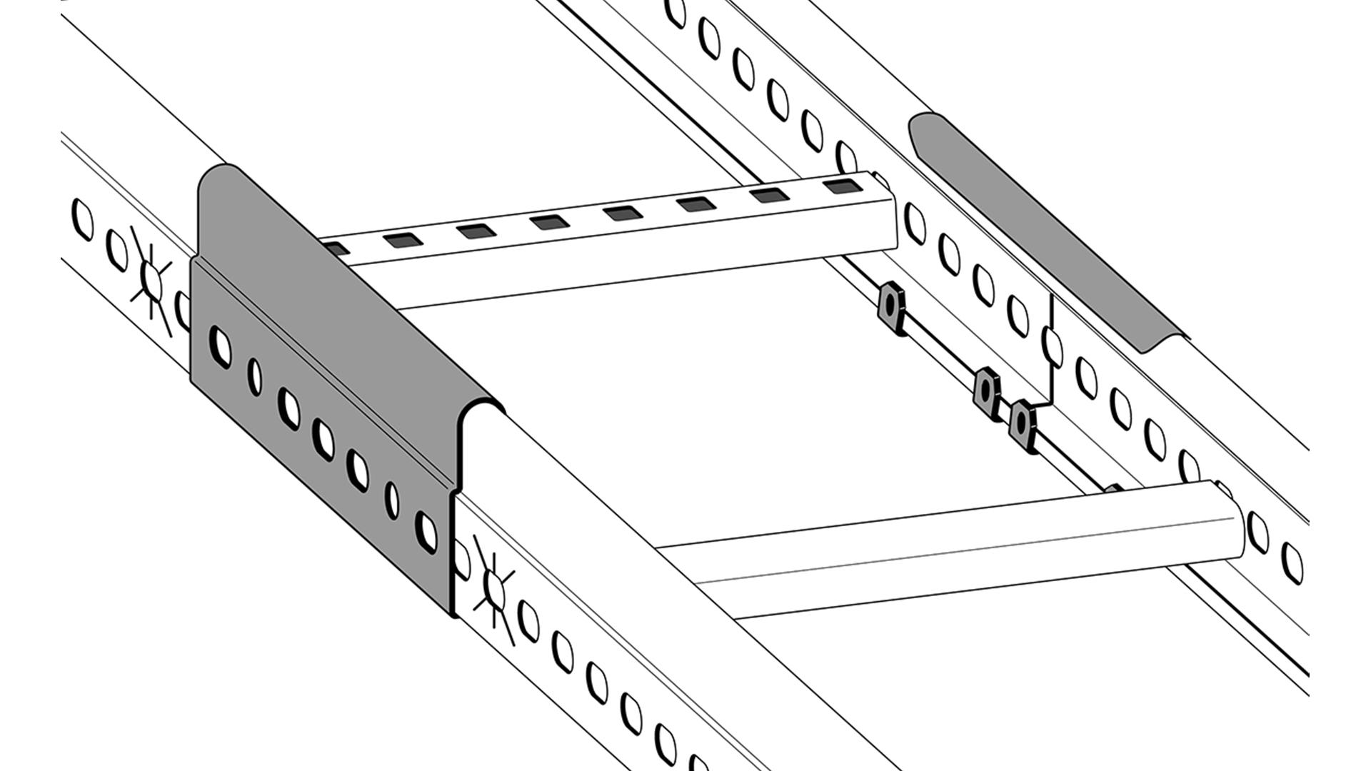 Potentialutjämning kabelstege